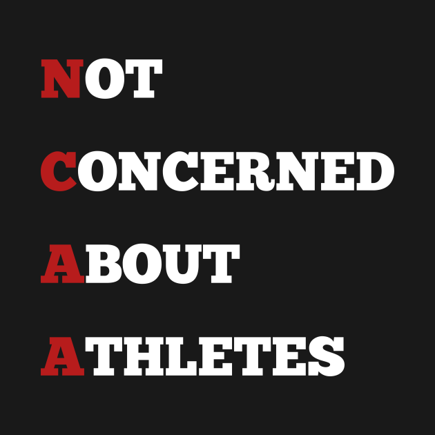 TeePublic: not concerned about athletes