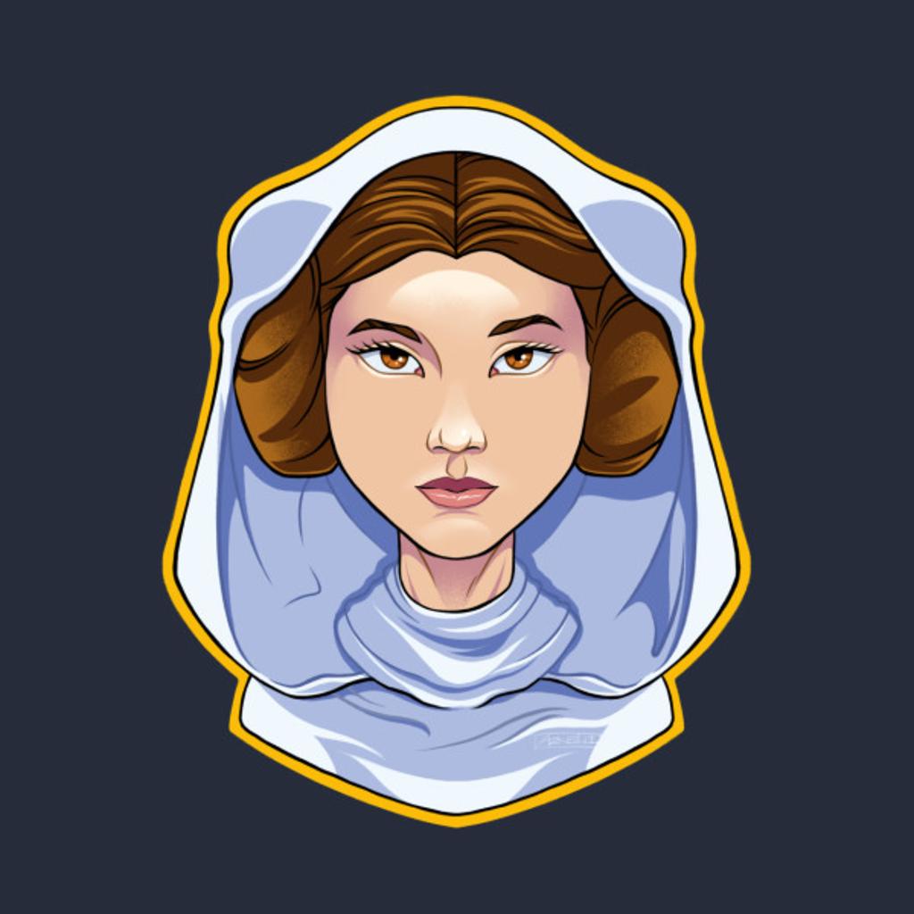 TeePublic: Princess Leia