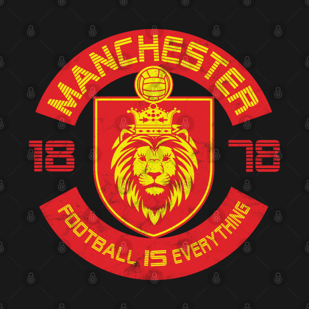 TeePublic: Football Is Everything - Manchester Squad Vintage