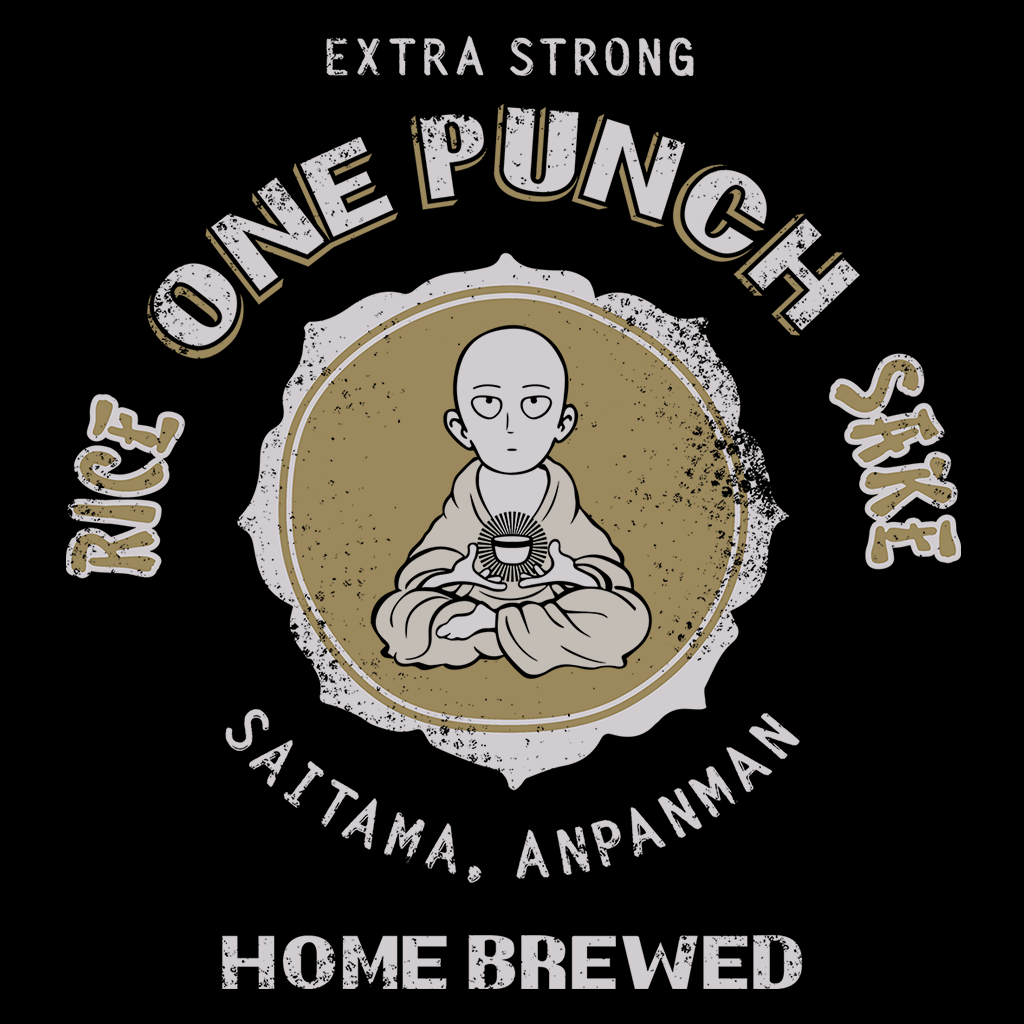 Pop-Up Tee: One Punch Sake