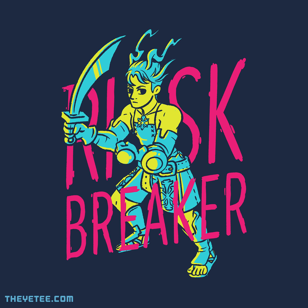 The Yetee: Neon Risk Breaker