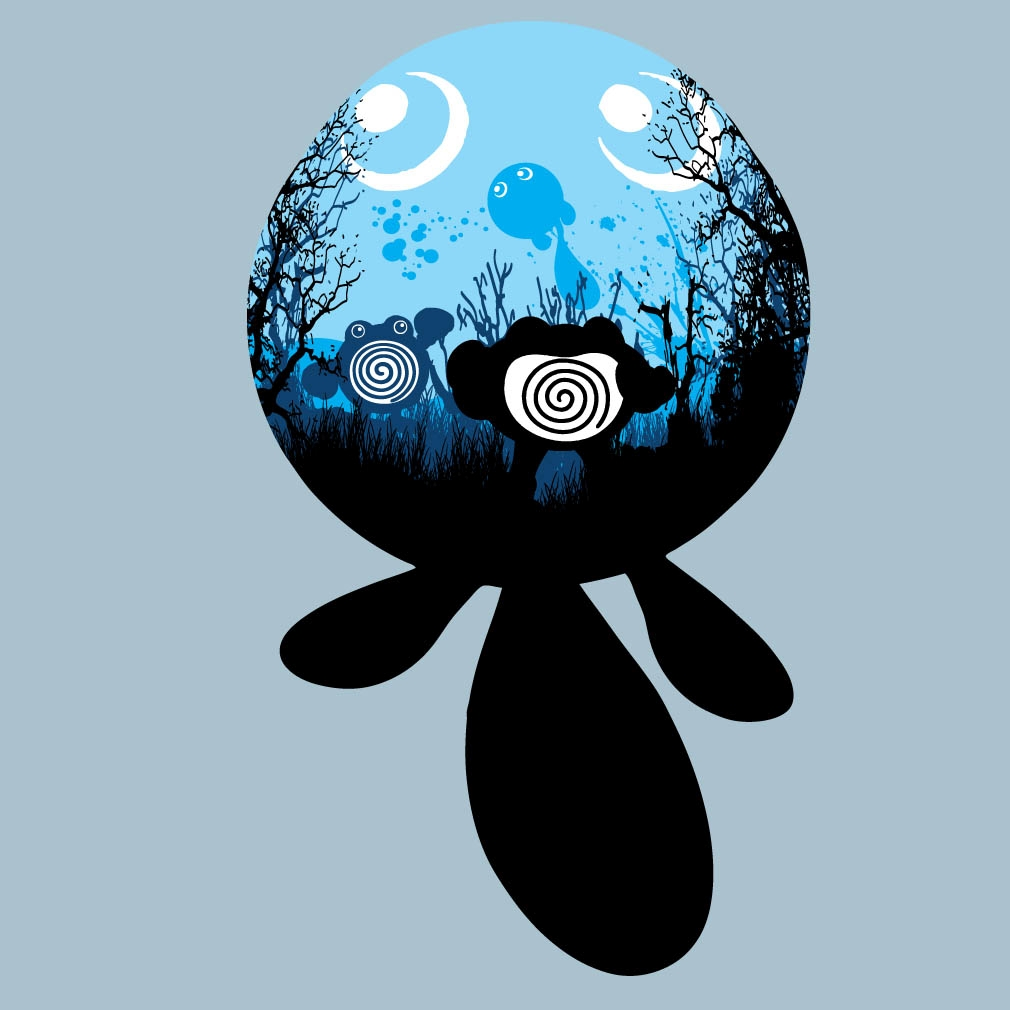 0ab7a85a Poliwag Evolution from TeeTournament | Day of the Shirt