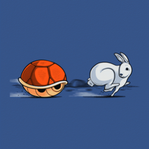 BustedTees: The Hare and the Shell