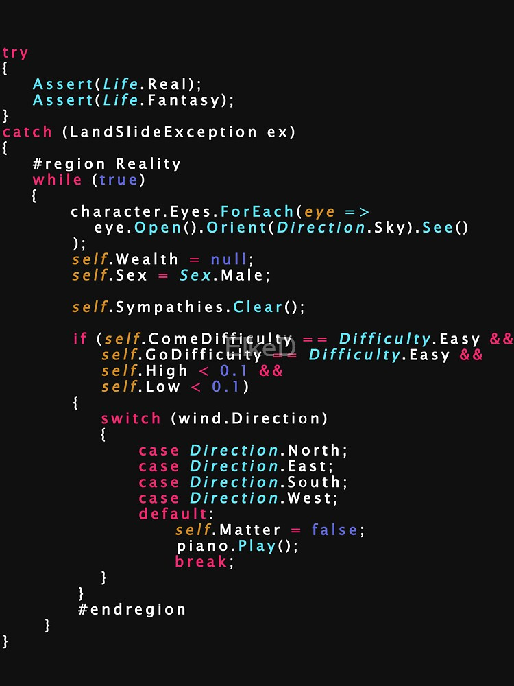 RedBubble: Is This The Real Life Coding Programming Color