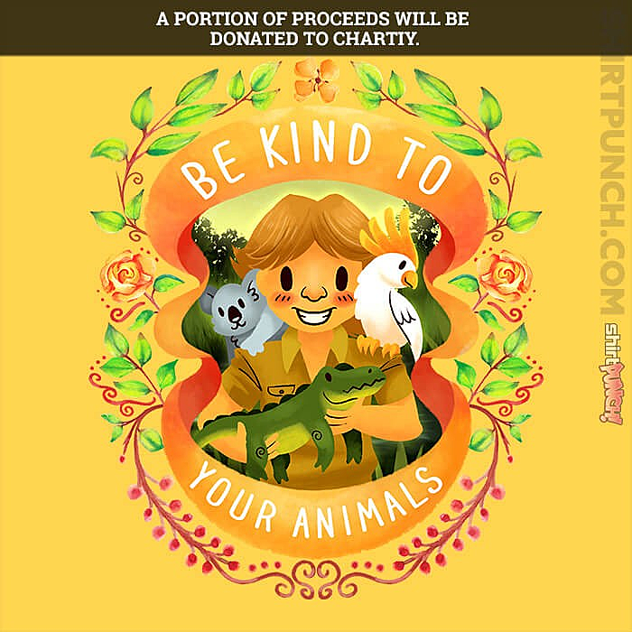 ShirtPunch: Be Kind To Your Animals