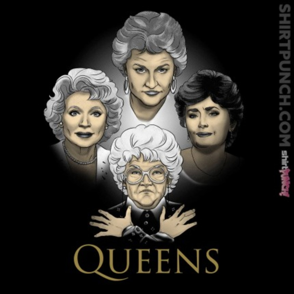 ShirtPunch: Golden Queens