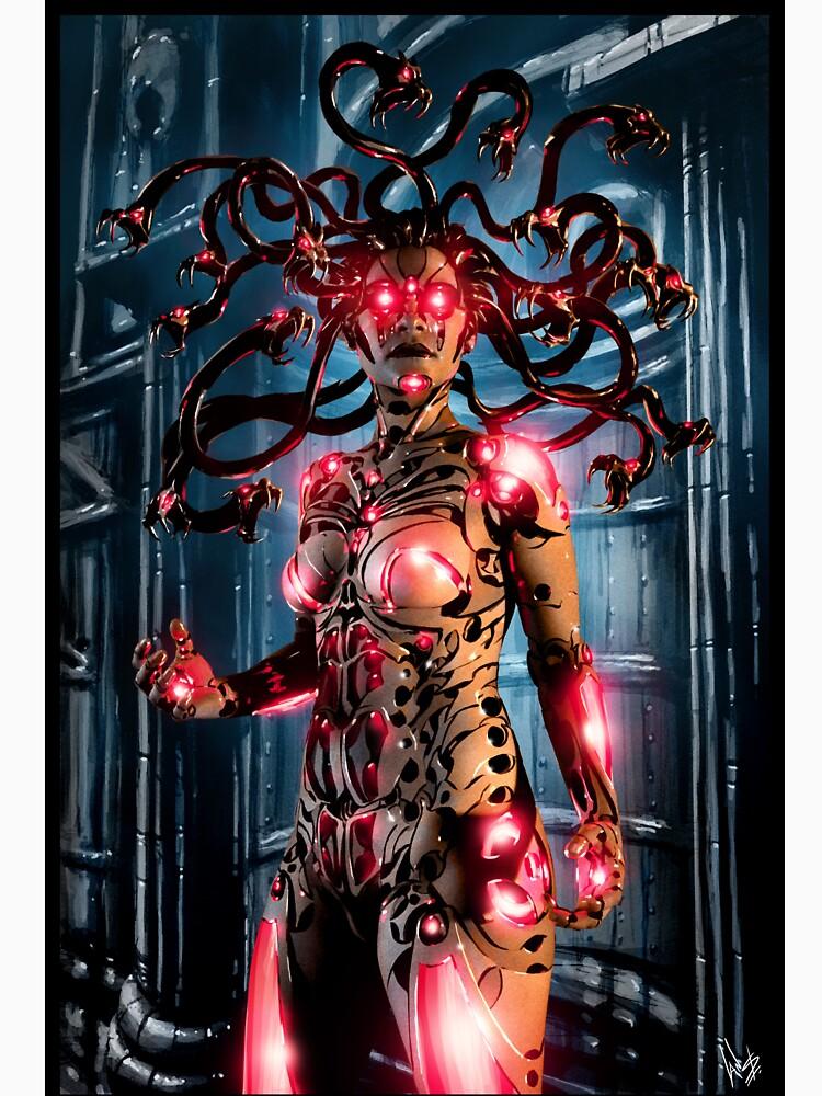RedBubble: Cyberpunk Painting 067