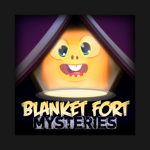TeePublic: Blanket Fort Mysteries - Logo