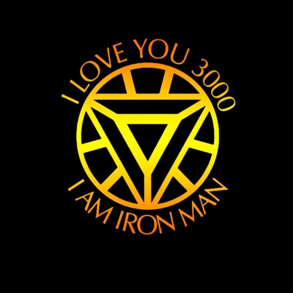 BustedTees: I love you 3000 I am Iron Man Shirt