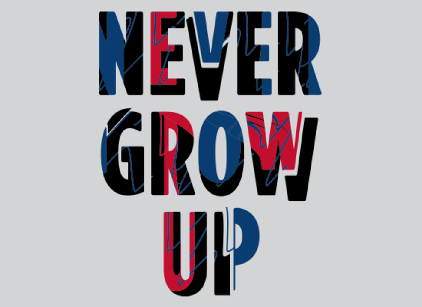 SnorgTees: Never Grow Up