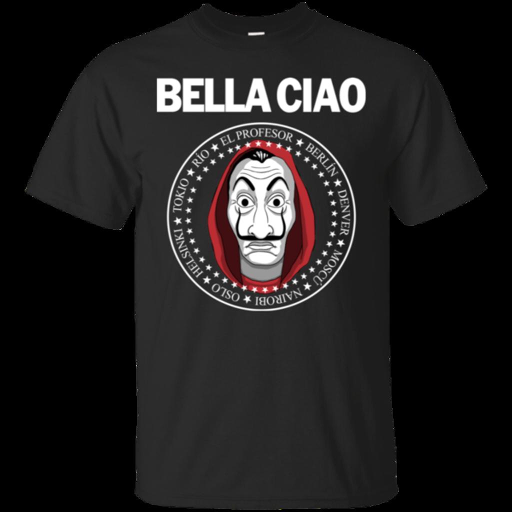 Pop-Up Tee: Bella Ciao
