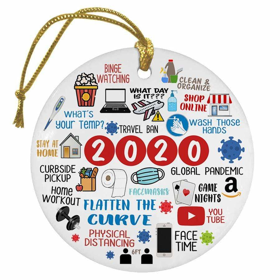 BustedTees: 2020 Christmas Ornament