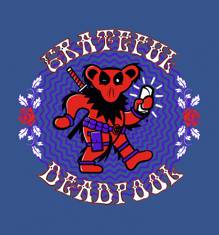 BustedTees: The Grateful Deadpool