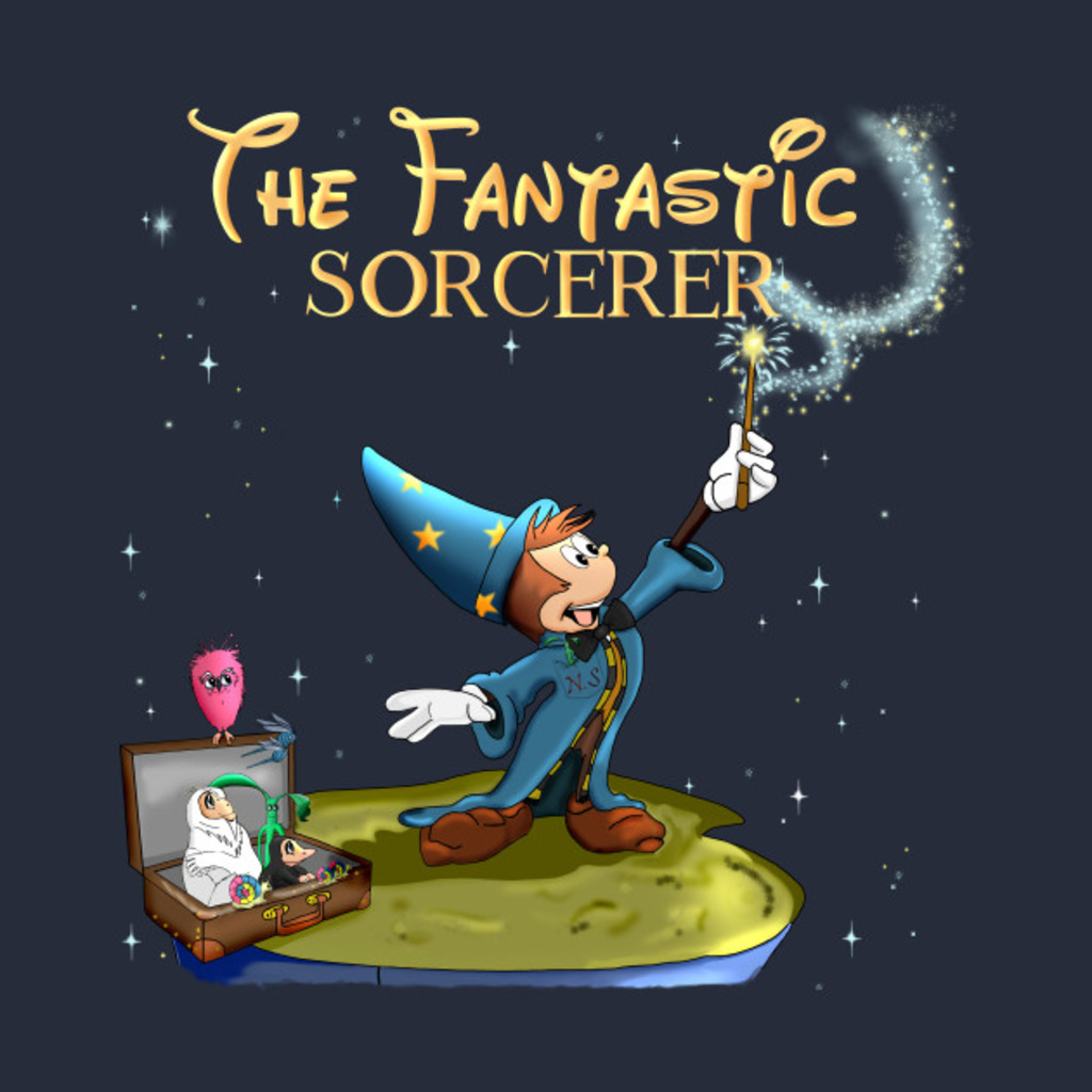 TeePublic: The Fantastic Sorcerer T-Shirt