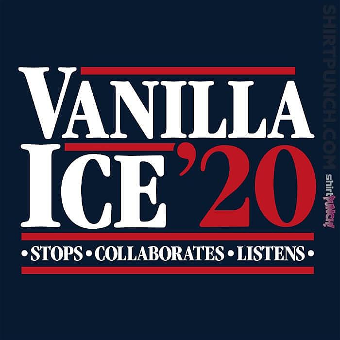 ShirtPunch: Vanilla Ice 20