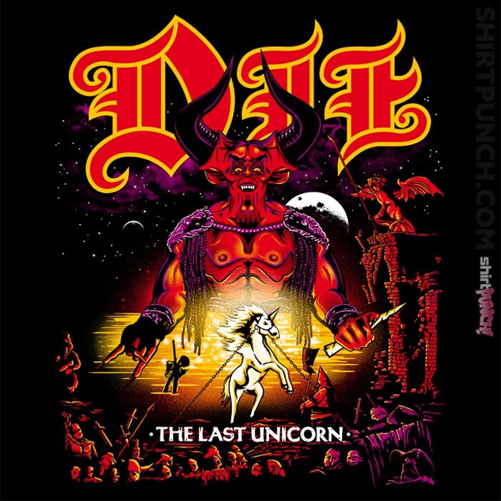 ShirtPunch: Die Last Unicorn