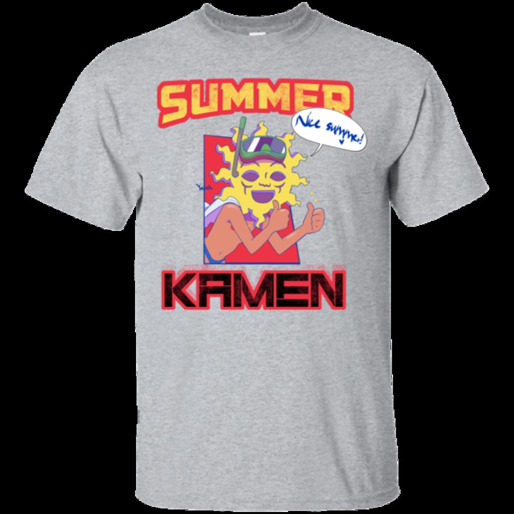 Pop-Up Tee: Summer Kamen