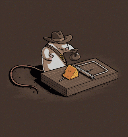 BustedTees: Indiana Mouse