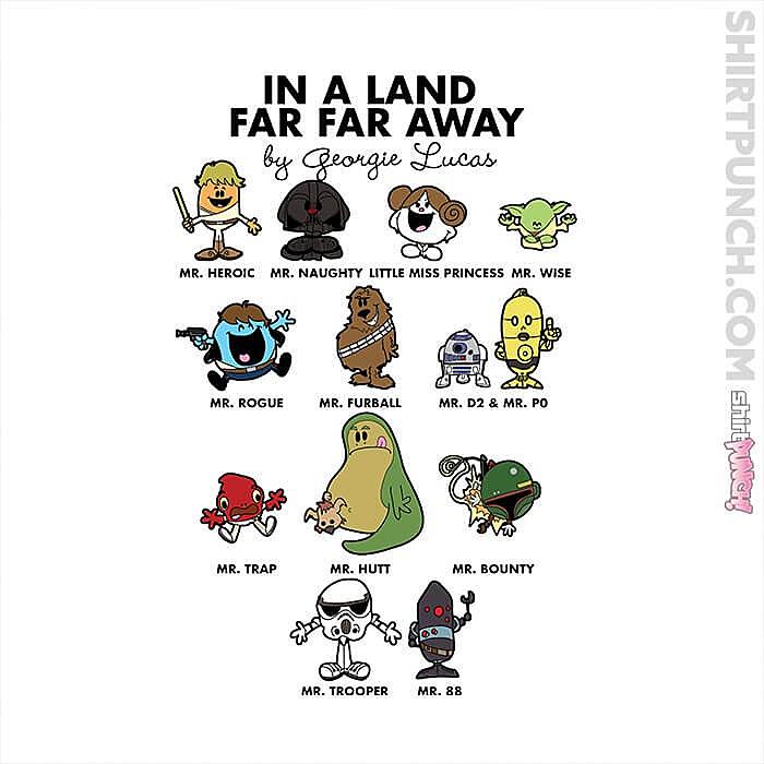 ShirtPunch: In A Land Far Far Away