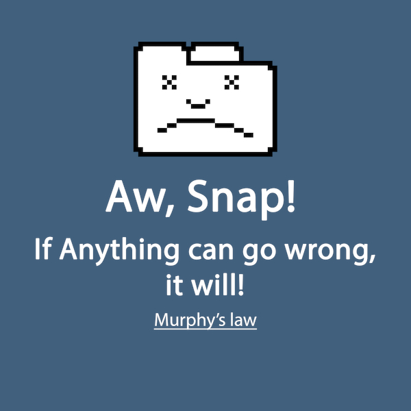 NeatoShop: Murphy's law on Chrome