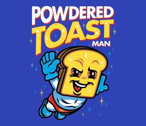 TeeFury: Super Toast Man