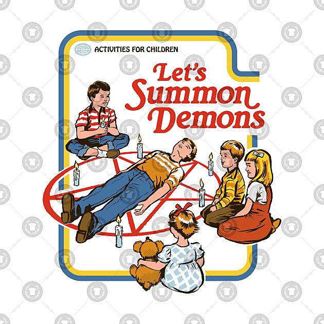 TeePublic: Let's Summon Demons