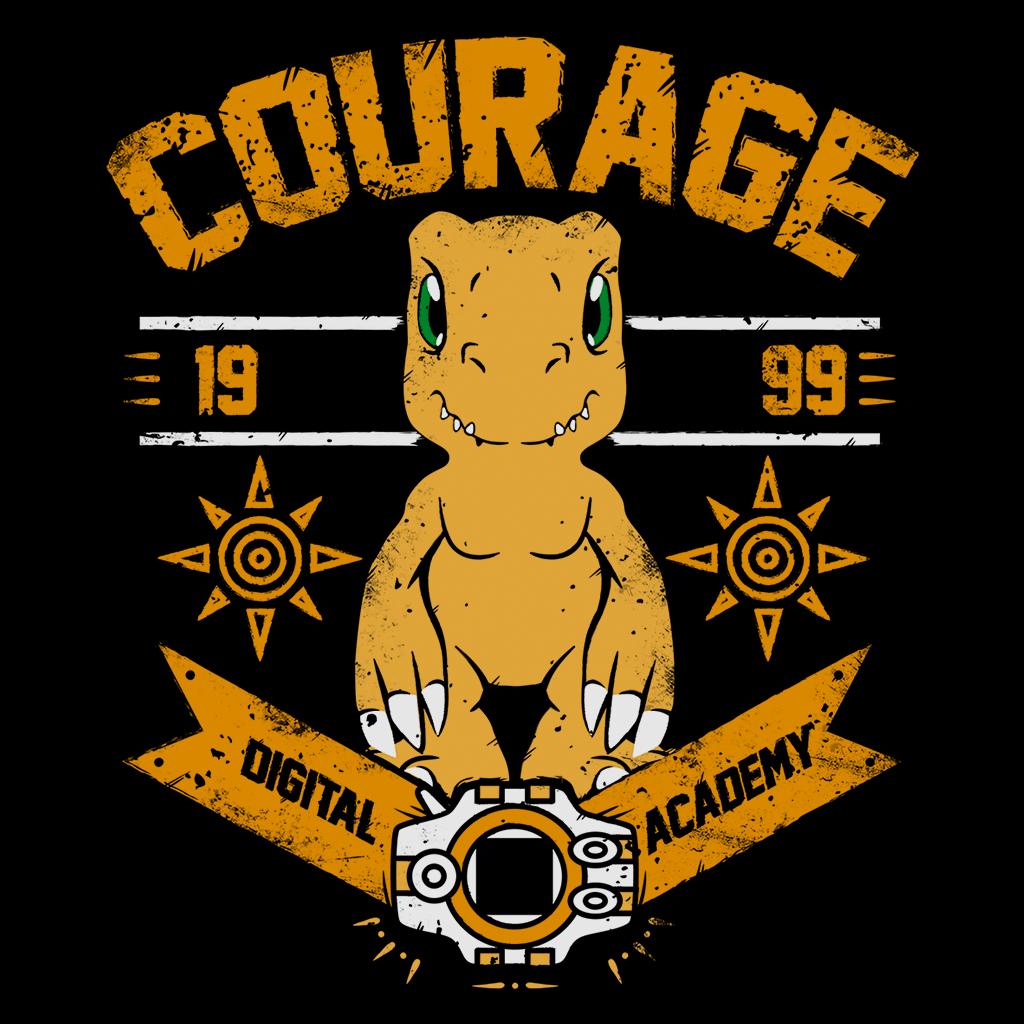 Pop-Up Tee: Courage Academy
