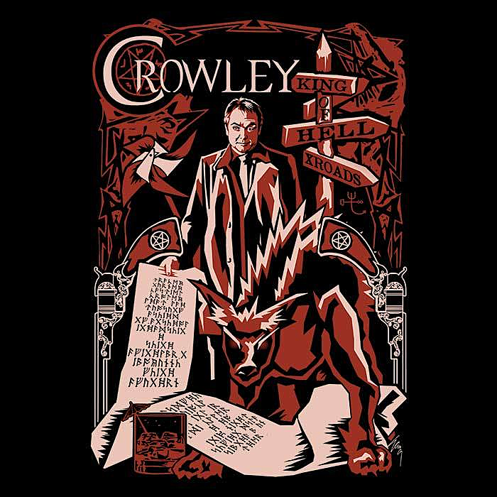 Once Upon a Tee: Crowley Nouveau