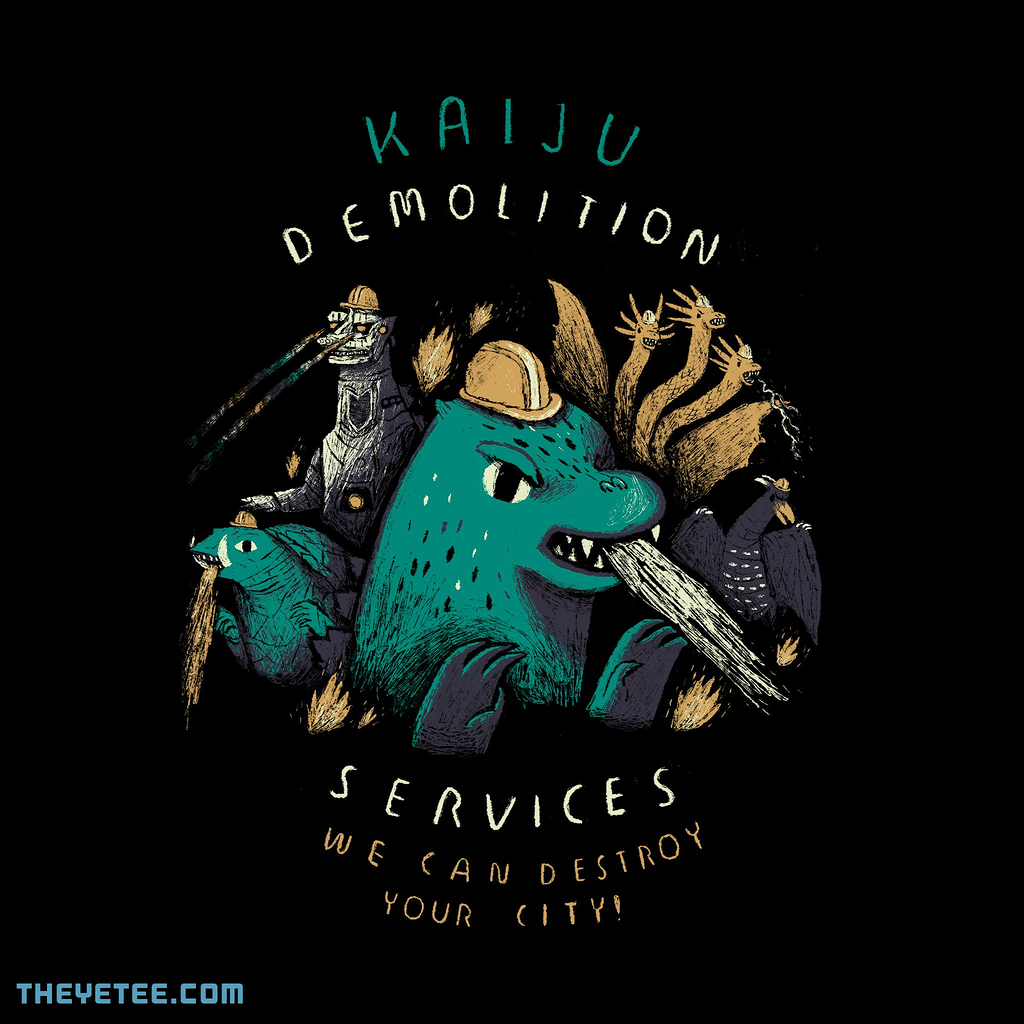The Yetee: kaiju demolition services
