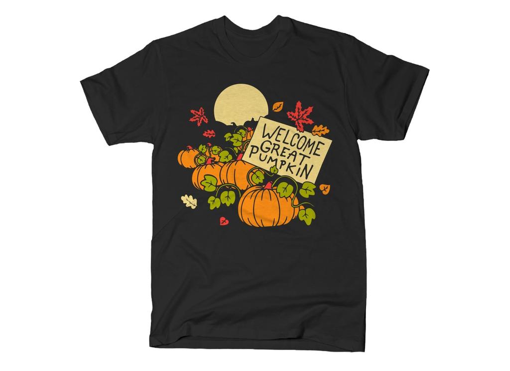 SnorgTees: Welcome Great Pumpkin