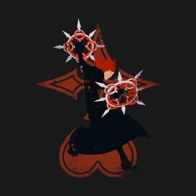 TeePublic: Kingdom Hearts - Axel T-Shirt