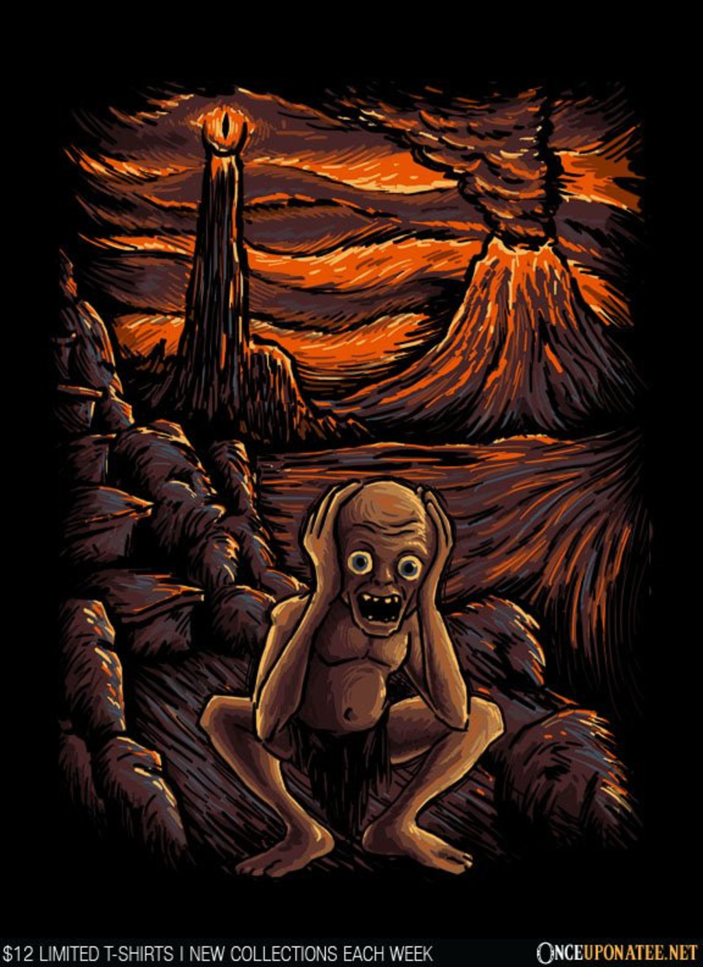 Once Upon a Tee: The Scream in Mordor