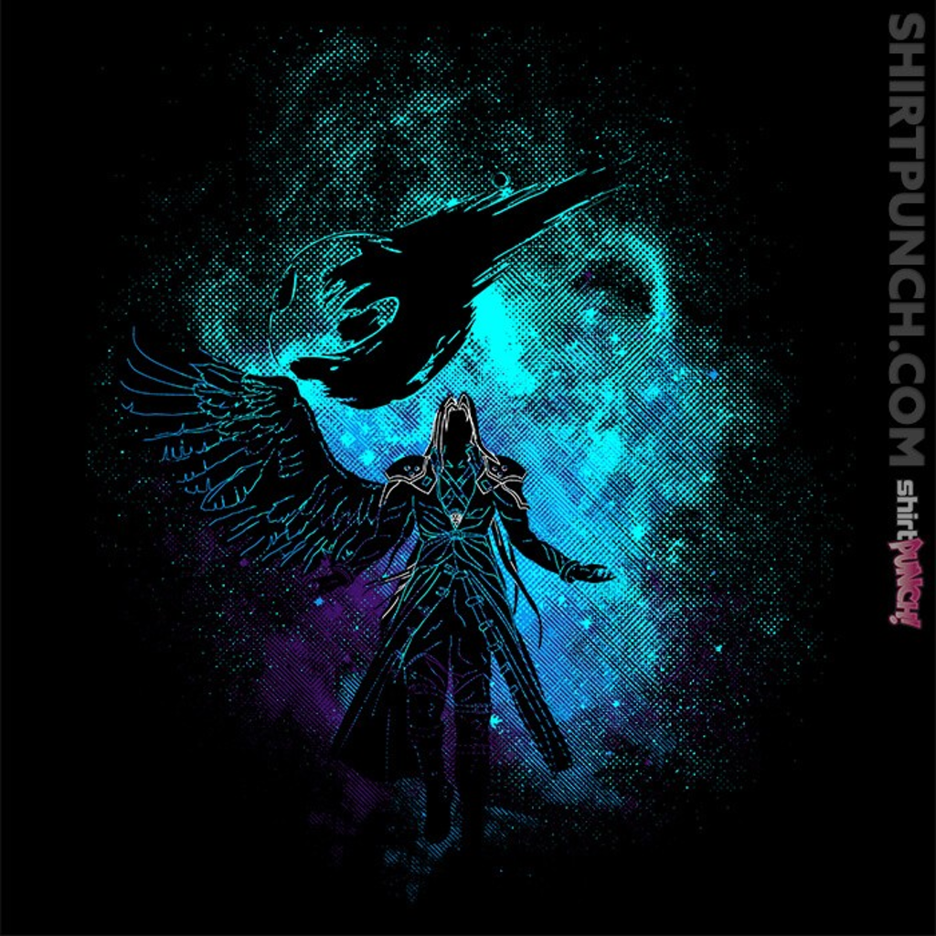 ShirtPunch: Sephiroth Art