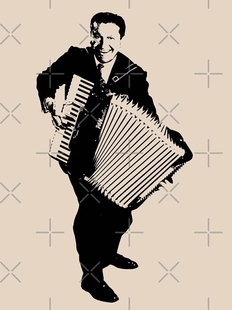 RedBubble: Lawrence Welk - No Name - The Black Stencil