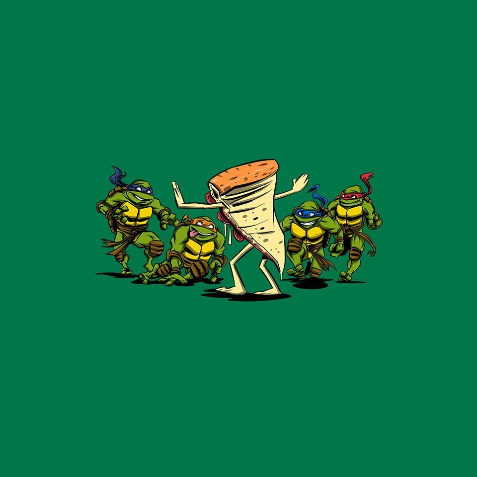 TeeFury: Jurassic Pizza