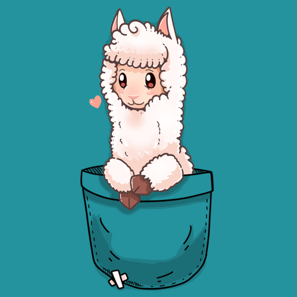 NeatoShop: Cute Pocket Alpaca