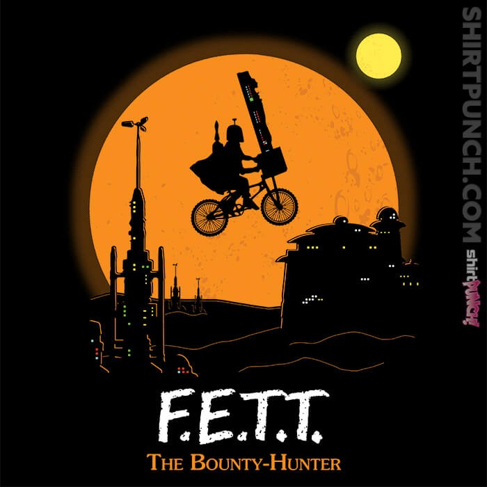 ShirtPunch: F.E.T.T. The Bounty Hunter