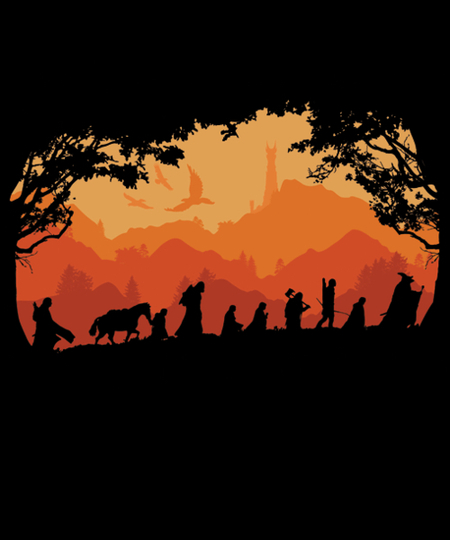 Qwertee: Nine Companions