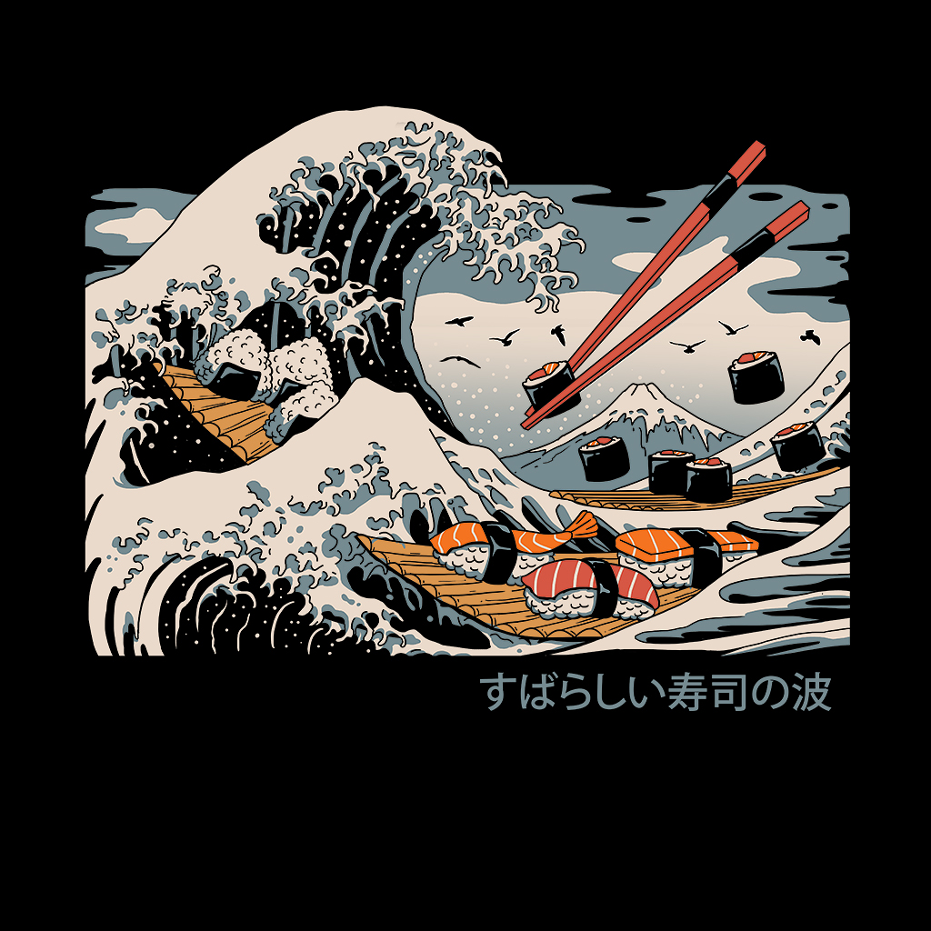 TeeTee: The Great Sushi Wave