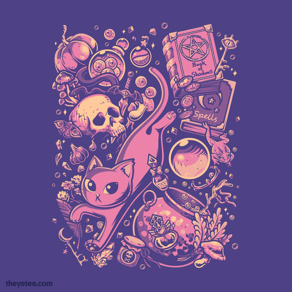 The Yetee: Witch Stuff