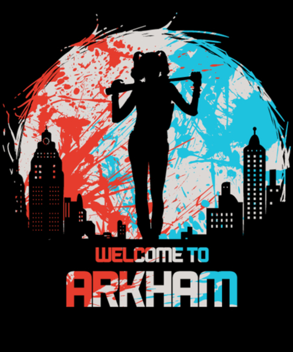 Qwertee: Welcome to Arkham