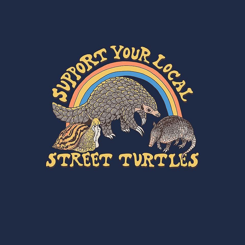 TeeFury: Street Turtles