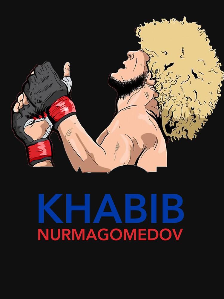 RedBubble: khabib nurmagomedov the eagle