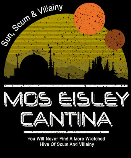Qwertee: Mos Eisley Cantina