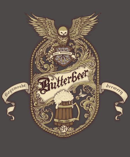 Qwertee: BUTTERBEER
