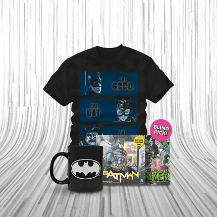 ShirtPunch: The Caped Crusader Bundle