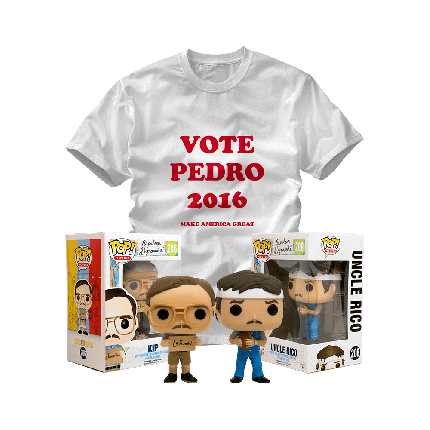 ShirtPunch: Vote for Pedro Bundle
