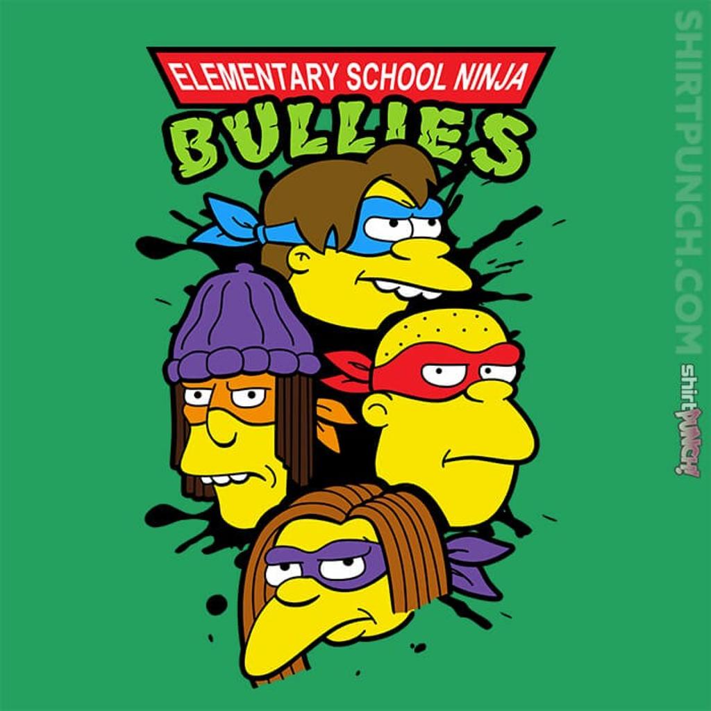 ShirtPunch: Ninja Bullies