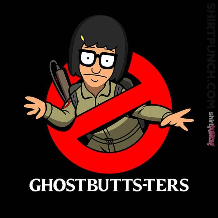 ShirtPunch: Ghostbutts-ters