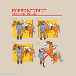The Yetee: Horse Bonding Guide